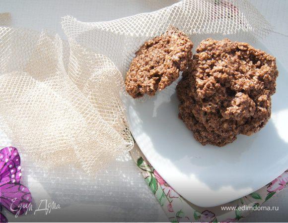 Овсяное шоколадное печенье