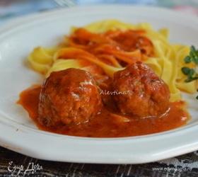 Итальянские фрикадельки с рикоттой
