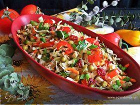 Овощной салат «Три капусты»