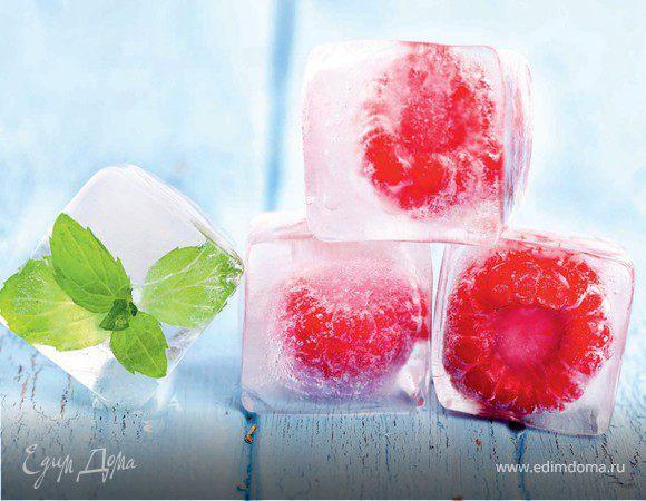 Кубики фруктового льда
