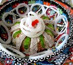 Таджикский салат «Гиссар»