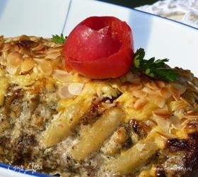 Запеченная корейка с ананасами