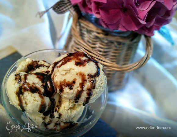 Ванильное мороженое