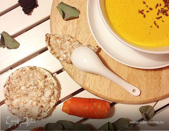 Сырный суп с пастой карри