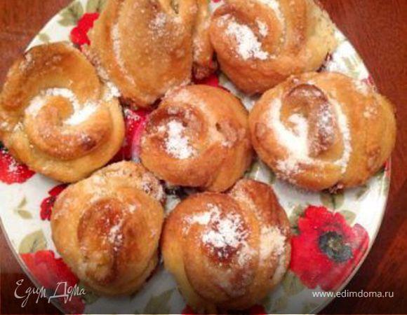 Творожное печенье «Розочки»