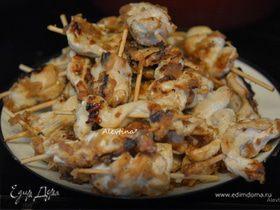 Куриные шашлычки Satay