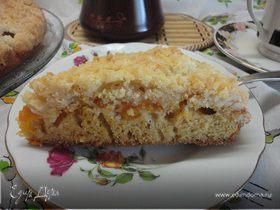 Лимонный кекс с абрикосами