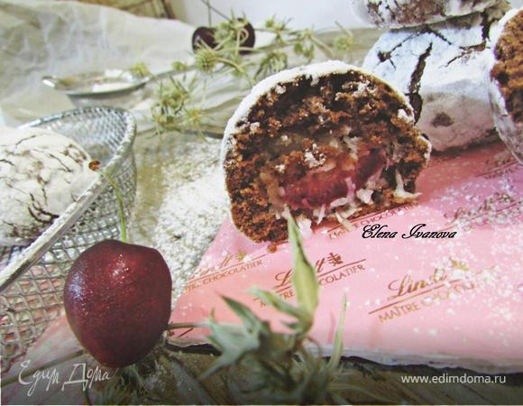 Печенье «Вишня в шоколаде»