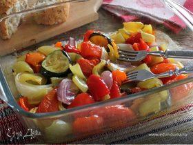 Ароматные овощи в духовке