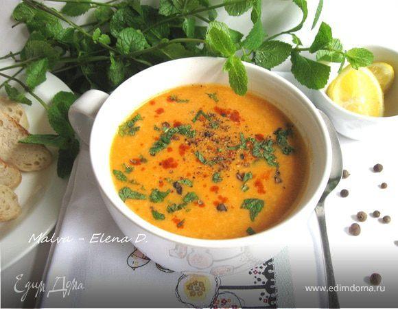 Турецкий чечевичный суп рецепт