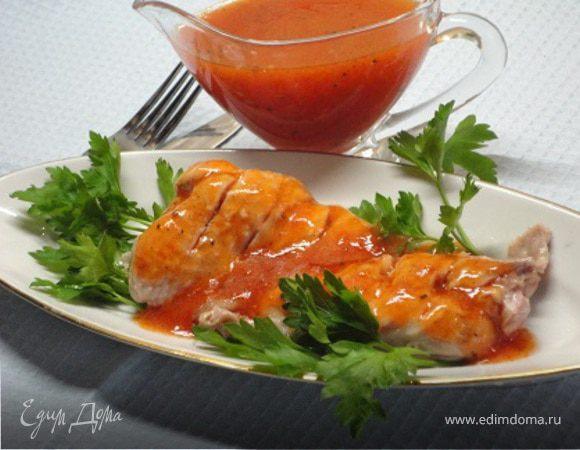 Утка в томатном соусе