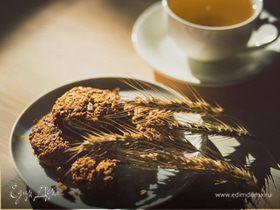 Хрустящее овсяное печенье