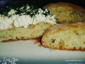 Итальянский хлеб «Чиабатта»