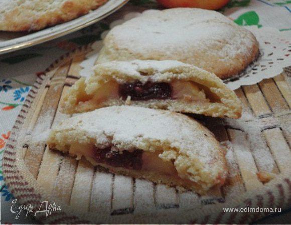 Песочные пирожные с яблоками