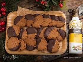 Шоколадное печенье «Подарок»