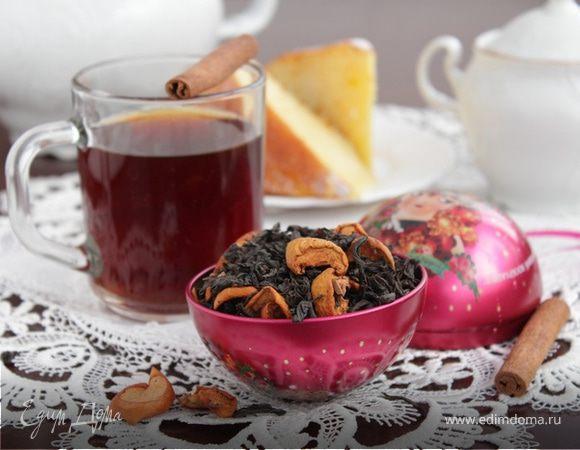 Яблочный чай с пряностями