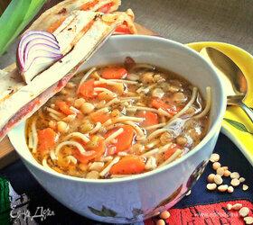 Гороховый суп с итальянским акцентом