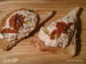 Паштет из тунца и творожного сыра