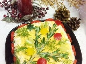 Салат с копчеными перепелами