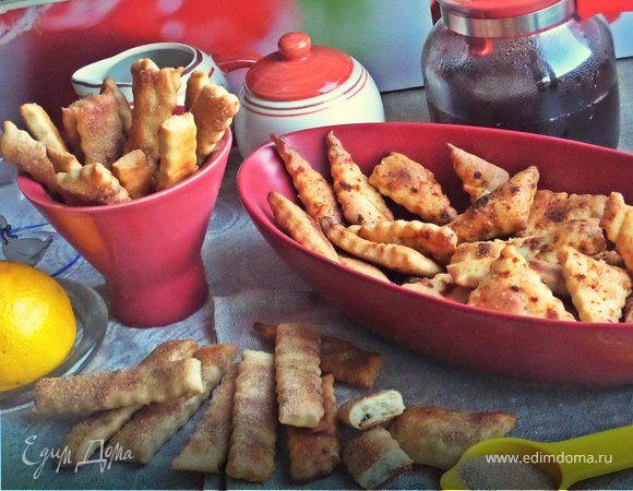 Постные крекеры (сладкие и соленые)