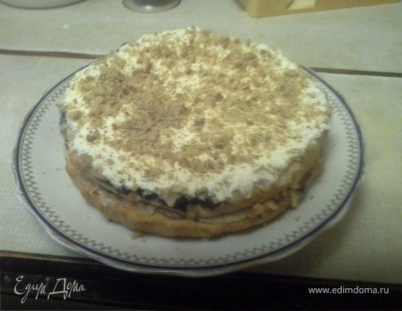 Торт «Белый мишка»