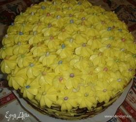 Торт «Цветочная полянка»