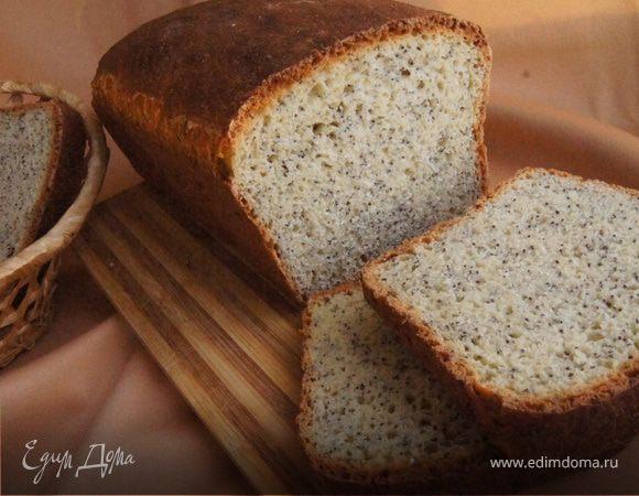 Пшеничный хлеб с маком