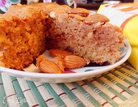 Повидлянка (пирог из манной крупы с повидлом)