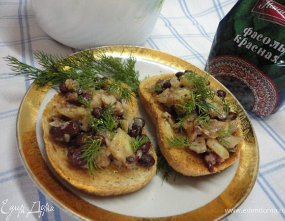 Треска с фасолью (Morue aux haricots)