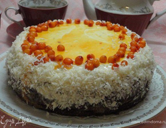 Морковно-ореховый пирог