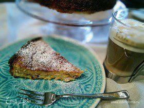 Миндальный пирог с яблочно-лимонным курдом