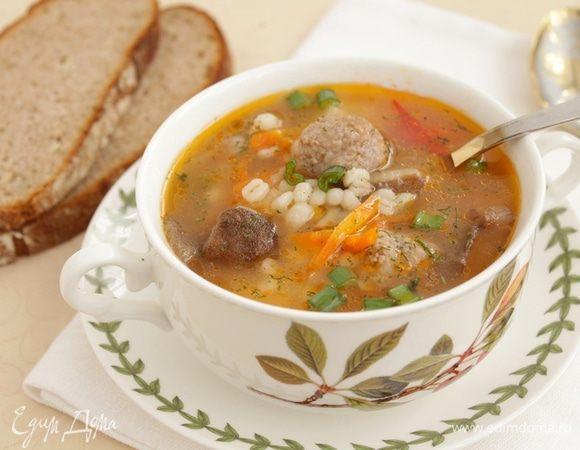Суп с голландской крупой