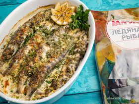 Ледяная рыба под пикантным соусом