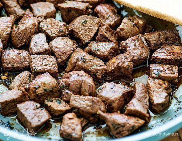 Маринад для говядины с вустерширским соусом и чесноком