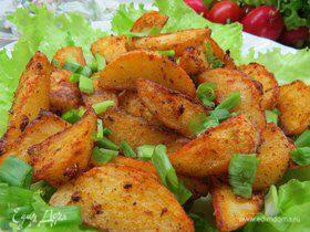 Запеченный картофель со специями