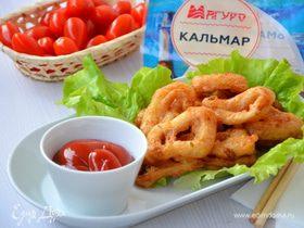 Кольца кальмаров в кляре по-китайски