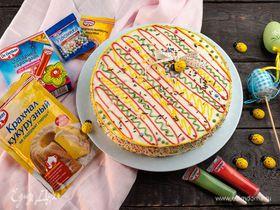 Торт «Степка-растрепка» с маскарпоне