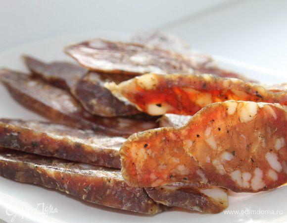 Колбаса сыровяленая чоризо рецепт с фото