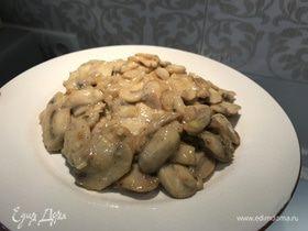 Классический рецепт грибов в сметане