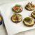 Брускетты с печенью трески и муссом из авокадо