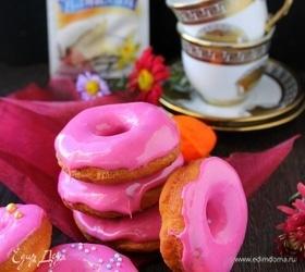 Пончики в глазури из маршмеллоу