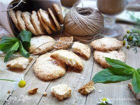 Миндальные печенья на меренге