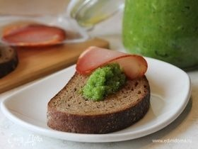 Чесночная паста (закуска из стрелок чеснока)