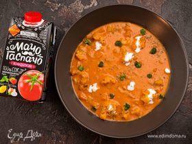 Овощной суп с томатом