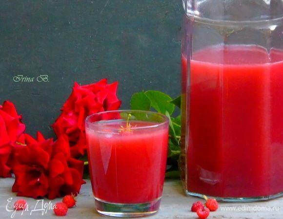 Малиновый лимонад «Роза Марокко»