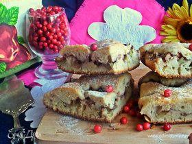 Пирог с ревенем (на кефире)