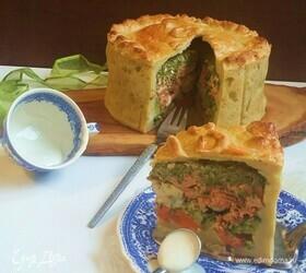 Пирог-многослойник «Праздничный»