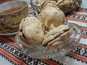 Орехово-шоколадная меренга