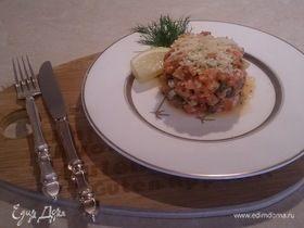 Тартар из с/с лосося