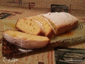 Лимонный кекс с пропиткой